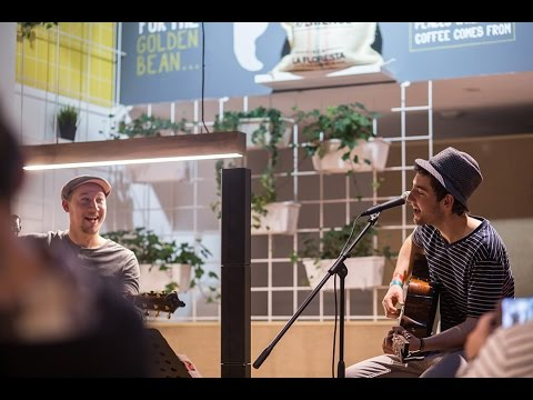 Josh Oudendijk featuring Sven Sauber live at Golden Bean