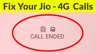fix Jio 4G Calling Problem-Incoming And Outgoing CallsSolve Call Ended On Android