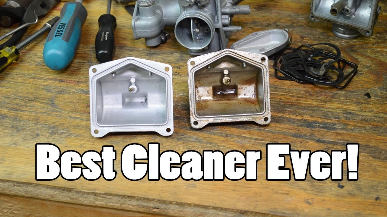 How To Clean Carburetor >> The BEST method for cleaning carburetors - soda blast and ultrasonic - YouTube