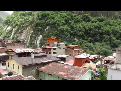 Timelapse de Aguas Calientes, Machu Picchu, Perú