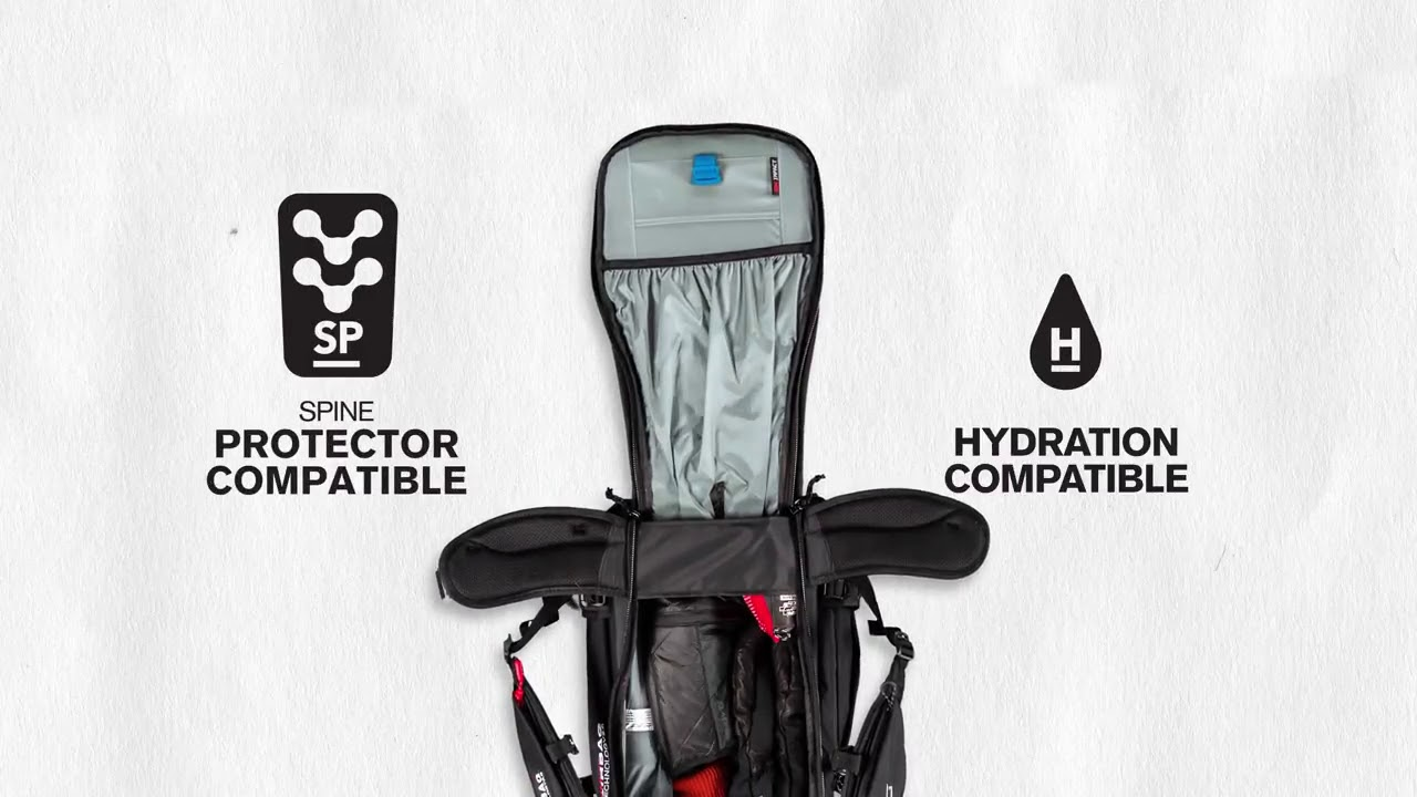 The Dakine Poacher Off Piste Backpack - YouTube 69a0bf0097