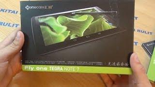 Посылка из Китая №514. Fly One Note 7. Игровой планшет