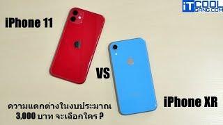 เปรียบเทียบ iPhone 11 vs iPhone XR กับราคาห่างกัน 3,000 บาท จะเลือกใคร