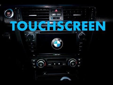 """BMW E90 // In Depth 7"""" Touchscreen Installation // EONON GA6165"""