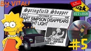 """[LP] The Simpsons Hit & Run """"Super Kárá Kámo!"""" #3 1.Část By Vitali"""