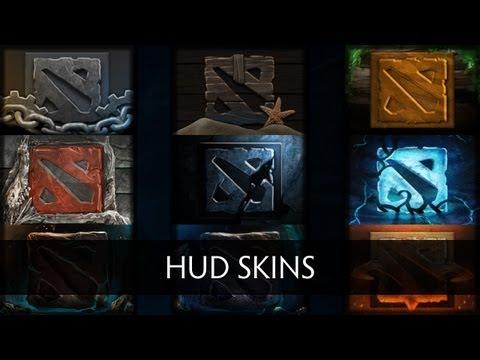 Dota 2 Hud Skins (Preview)
