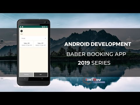 Android Development Tutorial - Barber Booking App part 4 Booking Step One Choose Place thumbnail