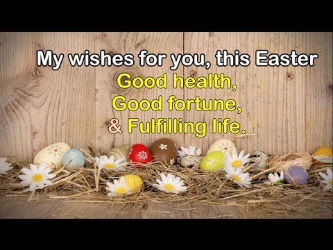 Wishing You Happy Easter || Easter Wishes 2017