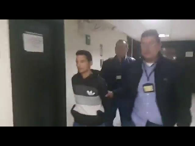 Meten preso a joven que activó granada en protesta estudiantil en Bogotá