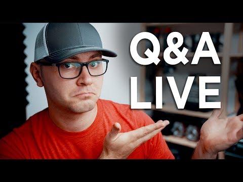 Ask Your Video Production Questions! DSLR VS Live Q&A