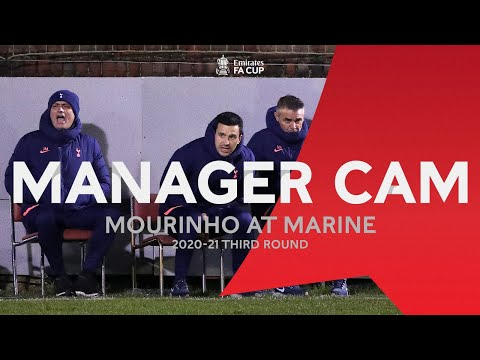 Mourinho At Marine | Greatest Mismatch In FA Cup History | Manager Cam | Emirates FA Cup Third Round
