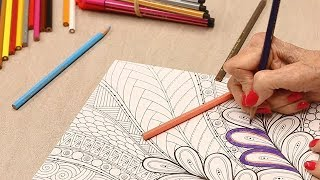 Powered Libraries | Midland County Public Library Adult Coloring Group