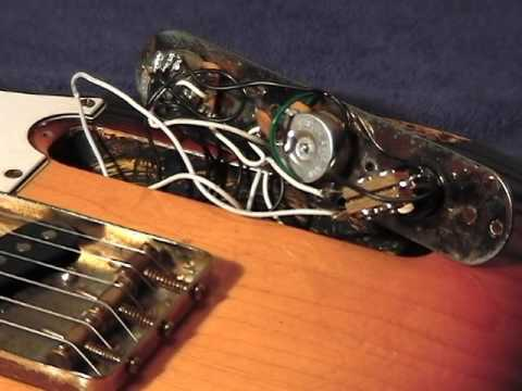 Replacing A Telecaster Toggle Switch With a Les Paul Type Toggle