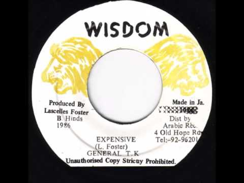 "General TK - Expensive + Dub - 7"" Wisdom 1986 - DANGEROUS DIGITAL 80'S DANCEHALL"