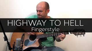 Highway to Hell (AC/DC) - Acoustic Guitar Solo Cover (Violão Fingerstyle)