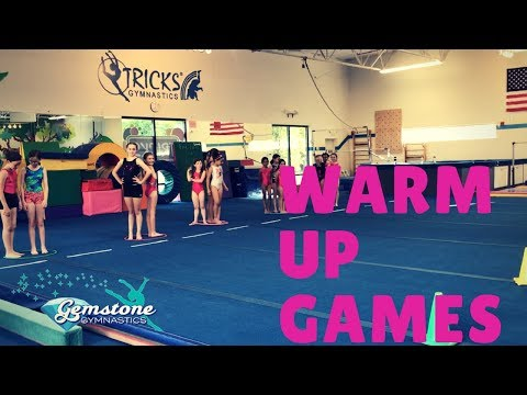 Gemstone Gymnastics 4 Easy Warm Up Games