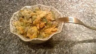 Какой салат приготовить на Новый Год?  Рецепт салата с курицей и грибами.