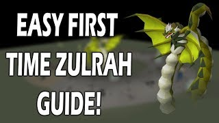 Easy ZULRAH GUIDE For FIRST TIMERS | The Only Guide You'll Ever Need