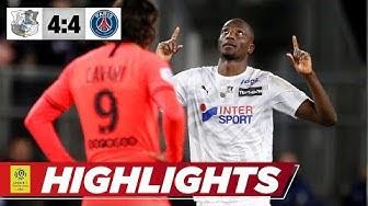 Spektakulär: Irrer 8-Tore-Krimi beim Tabellen-Vorletzten | Amiens - PSG 4:4 | Highlights | Ligue 1