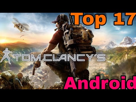 Top 17 Tom Clancy's Games On Android(1998-2018) All 100% Working By Man Vs Gaming