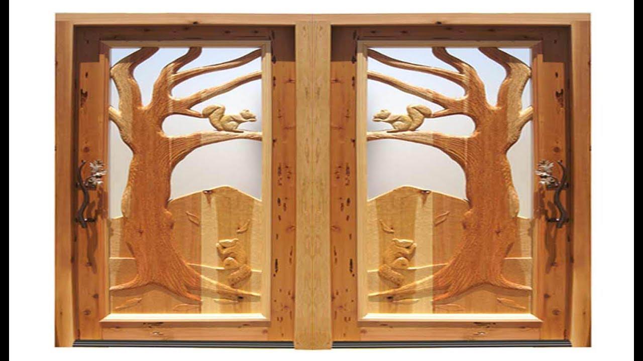 Latest Front Door Models l Amazing Wooden Tree Design Front Door Models & Latest Front Door Models l Amazing Wooden Tree Design Front Door ...