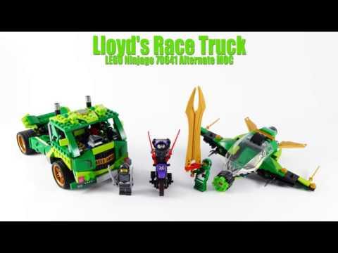 Lloyds Race Truck Lego Ninjago 70641 Alternate Moc Youtube