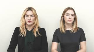 An exclusive interview with movie brooklyn's lead actress saoirse ronan, dressed in dior, filmed during her appearance on variety studio actors actors.