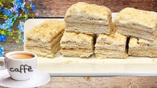 Erib ketadigan Napaleon tort / торт Наполеон / Napoleon cake