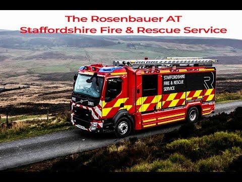 Rosenbauer fire engine