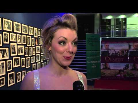 Quartet - Charity Gala Screening Interviews