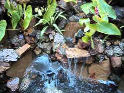 fuente en piedra natural