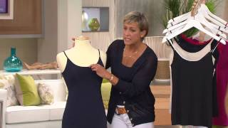 Jockey Set of 2 Double Layer Camisoles with Amy Stran