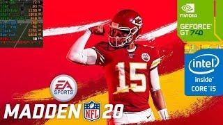 Madden NFL 20 (GT 740M/GT 825M/GT 920M) [Low]