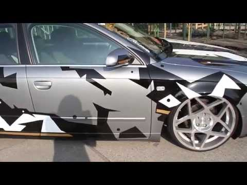 Camo car wrap by Proton Graphics | YDB PRODUCTIONS
