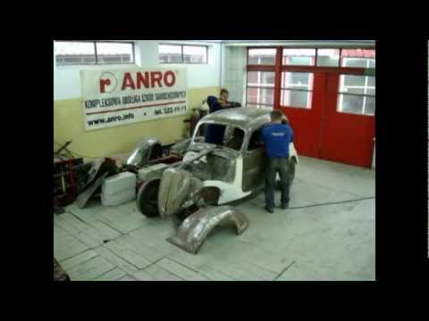 Fiat 508C Balilla 1100 - renowacja ANRO www.anro.info