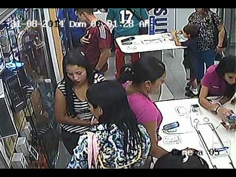 ROBO CITYMARKET TIENDA SAMSUNG 30/08/2014