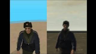 GTA SA vs GTA IV (freefall)