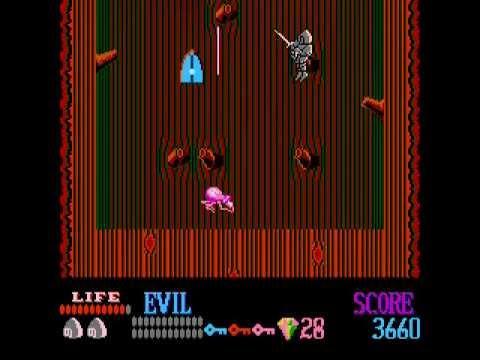 NES Longplay [258] Wizards & Warriors