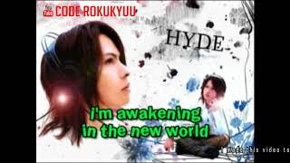 L'Arc~en~Ciel - New World - Karaoke Instrumental with Lyric Romaji