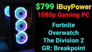 Game Benchmarks — $799 iBuyPower i5-9400F