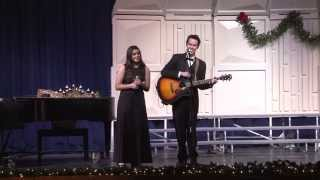 2013 TG Candlelight Concert 12 14 13     Let it Snow,  Tanner Ingold & Esther Seitz