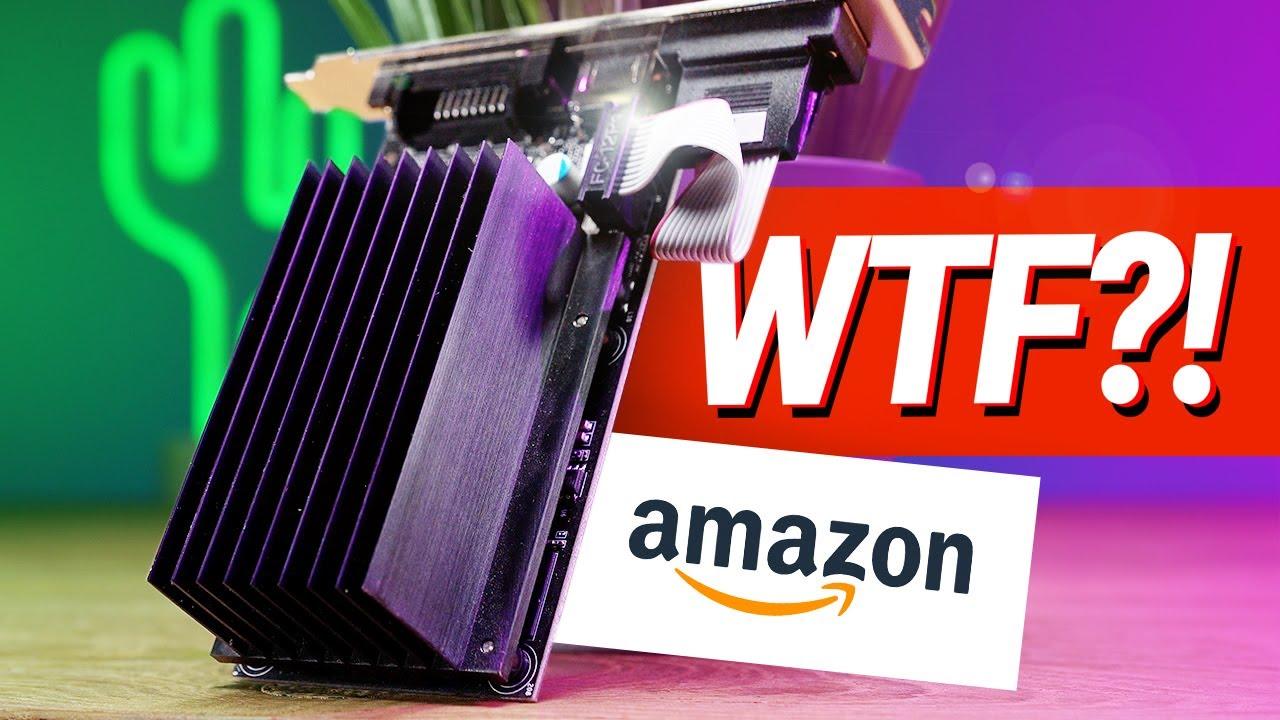 SCHLECHTESTE Grafikkarte auf Amazon gekauft... #GamingSchrott