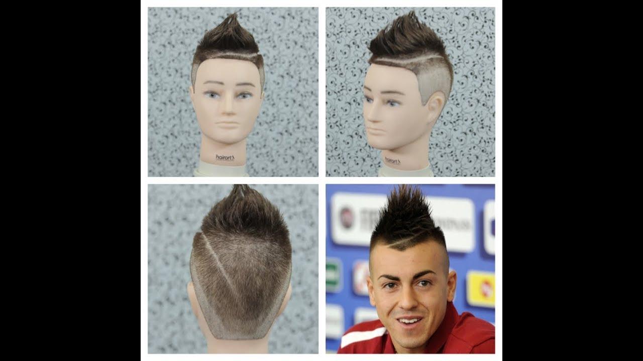 Pics Of Hair Styles: Stephan El Shaarawy Haircut Tutorial