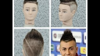 Stephan El Shaarawy Haircut Tutorial