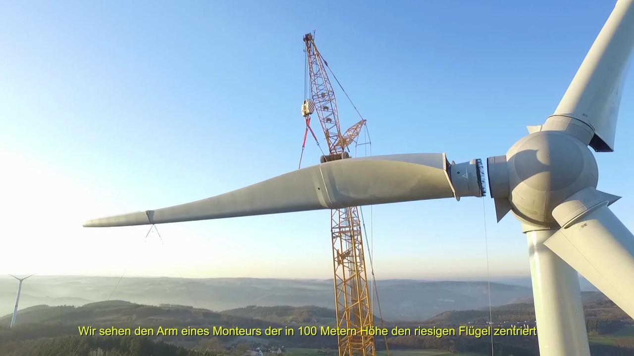 Windkraftanlagen Rotorblätter