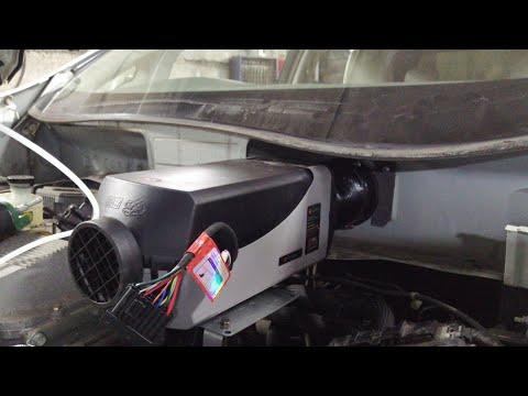 Ещё один вариант установки фена на Nissan leaf ZE0