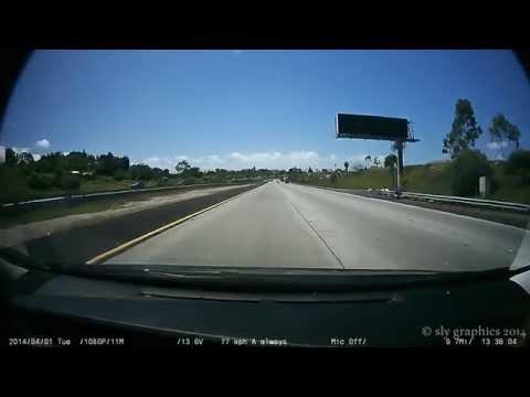 Dash Cam San Diego Driving
