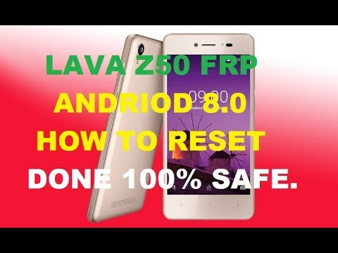 How to by pass google account/FRP Lock Remove LAVA iris 50