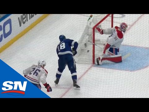 Ondrej Palat Capitalizes On Joel Edmundson Turnover Late In 3rd Period To Give Lightning 2-Goal Lead