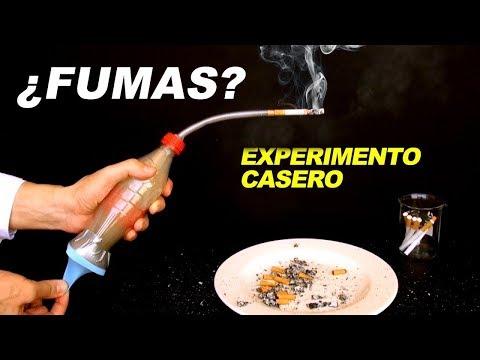 ¿Fumas? Experimento Casero muestra Efecto en Pulmones